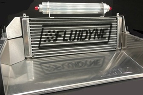 FLUIDYNE OIL COOLER W/SCOOP