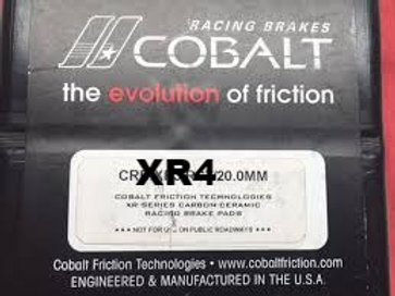 Cobalt XR4 Brake Pads for Wilwood