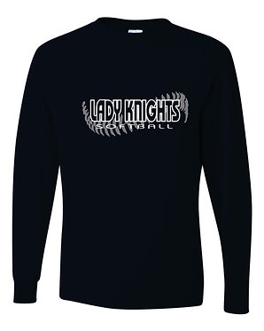 KNIGHTS | Jerzees - Dri-Power® Long Sleeve 50/50 T-Shirt / NAVY - 29LSR