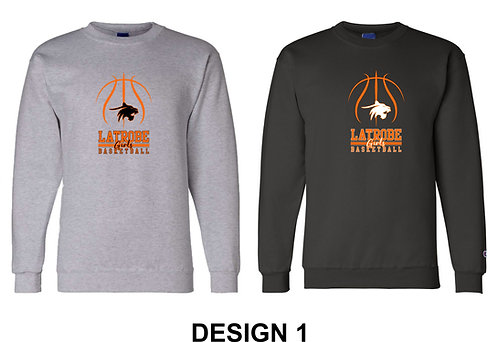 LATROBE GIRLS BASKETBALL | Champion - Double Dry Eco® Crewneck Sweatshirt - S600