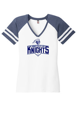 KNIGHTS | District Made Moms Game V-Neck Tee - DM476