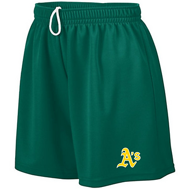 Augusta Sportswear - Women's Wicking Mesh Shorts - 960 - DARK GREEN