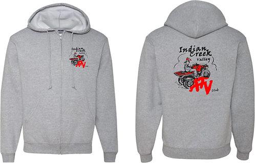 Indian Creek ATV | NuBlend Full Zip Hooded Sweatshirt - 993