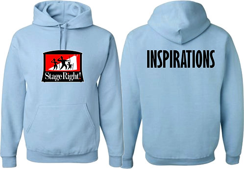 STAGE RIGHT | Inspirations Hoodie - 996m - LIGHT BLUE