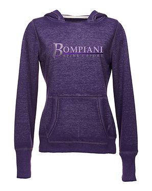 BOMPIANI - Women's Zen Fleece Hooded Sweatshirt - 8912