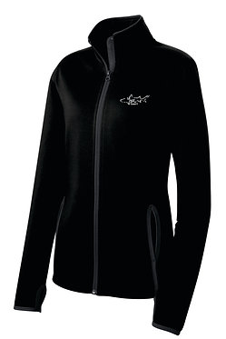 Sport-Tek® Ladies Sport-Wick® Stretch Contrast Full-Zip Jacket - LST853
