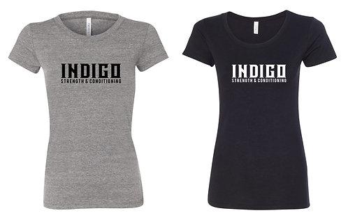INDIGO -BELLA+CANVAS Women's Tri-blend Tee 8413