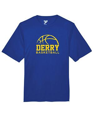 DERRY BASKETBALL | Team 365 Performance T-Shirt - Royal   TT11/TT11Y