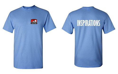 STAGE RIGHT | Inspirations T-shirt - 5000 - LIGHT BLUE