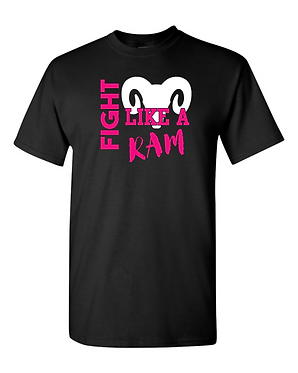 Fight Like a RAM  Gildan - DryBlend T-Shirt - 8000