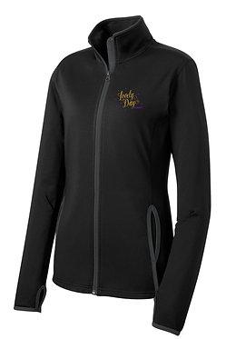 LOVELY DAY | Sport-Tek® Contrast 1/2-Zip Pullover (Bck/Grey)- ST854 & LST854