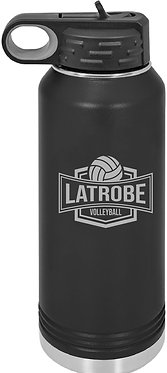 LATROBE VOLLEYBALL   32 oz. Polar Camel Water Bottle
