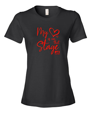 STAGE RIGHT | District Women's Perfect Blend Tee - DM108L