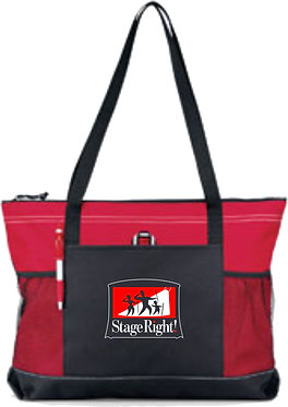 STAGE RIGHT | Gemline Select Zippered Tote - 1100