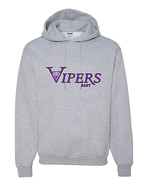VIPERS | JERZEES - NuBlend Pullover Hooded Sweatshirt - 996MR