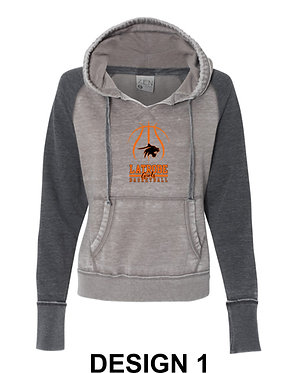 LATROBE GIRLS BASKETBALL | J. America - Zen Fleece Hooded Sweatshirt - 8926