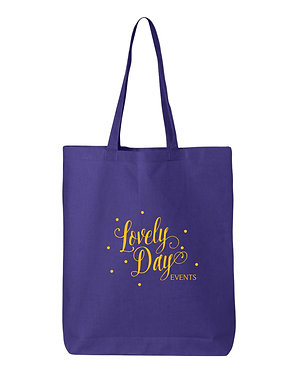 LOVELY DAY | Q-Tees - Economical Tote - QTBG