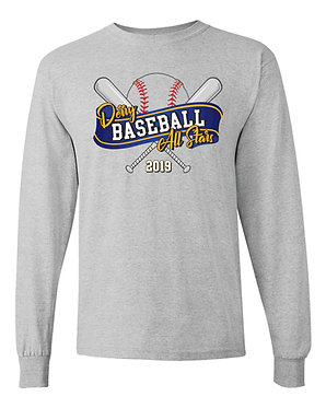 Sport Grey  Gildan - Heavy Cotton Long Sleeve T-Shirt - 5400
