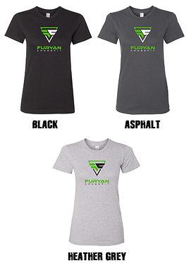 FURYAN   American Apparel - Women's Fine Jersey T-Shirt - USA - 2102US