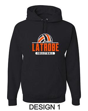 LATROBE VOLLEYBALL | JERZEES - Hooded Sweatshirt - 996MR