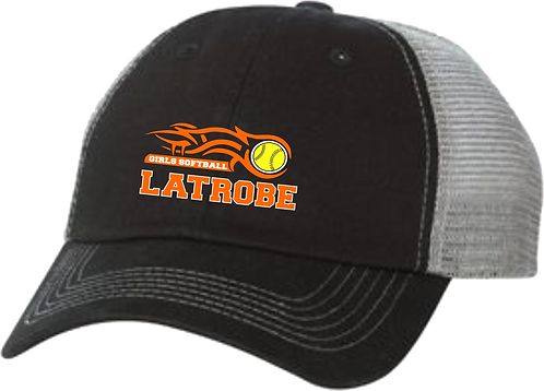 LATROBE SOFTBALL | Sportsman Contrast Stitch Adjustable Cap - 3100