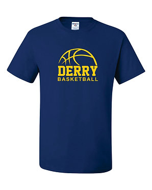 DERRY BASKETBALL | Jerzees - Dri-Power® 50/50 T-Shirt - Royal 29MR