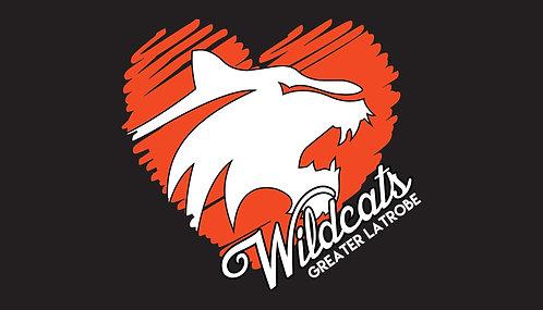 Heart Wildcat Greater Latrobe