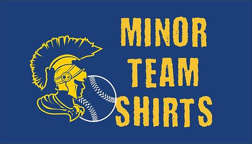 Minor Team Shirts
