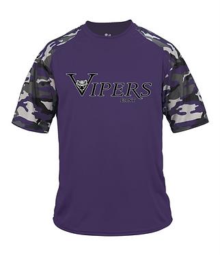 VIPERS | Badger - Camo Sport T-Shirt - 4141