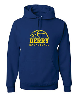 DERRY BASKETBALL | Jerzees - NuBlend Hooded Sweatshirt - Royal  996MR