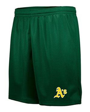 Augusta Sportswear - Tricot Mesh Short   A-1842/Y-1843 - DARK GREEN