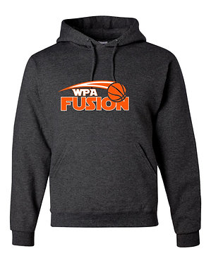 WPA FUSION | Jerzees - NuBlend Hooded Sweatshirt - BLACK 996MR