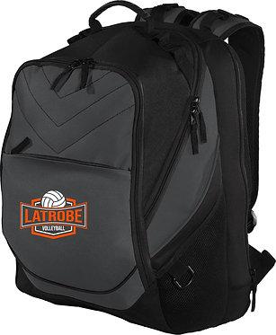 LATROBE VOLLEYBALL | Port Authority Backpack - Dark Charcoal/ Black - BG100