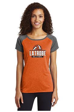 LATROBE VOLLEYBALL   Sport-Tek Ladies Contender Scoop Neck Tee - LST362