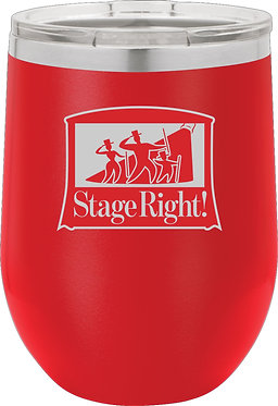 STAGE RIGHT | Polar Camel 16 oz. Stemless Wine Glass w/Lid