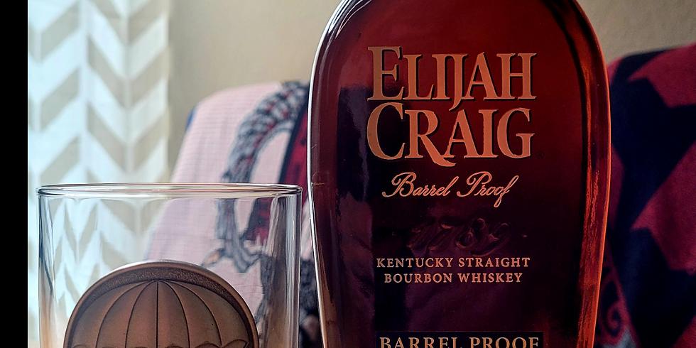 Elijah Craig Barrel Proof and LGOP Double Old Fashion