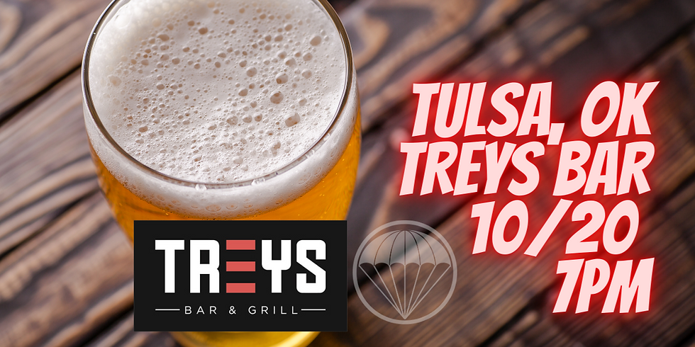 Tulsa, OK Paratrooper Pint Night