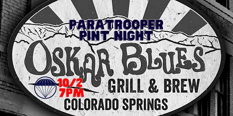 Colorado Springs Paratrooper Pint Night