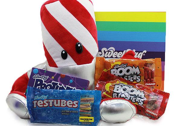 Gift Box Candy Kane