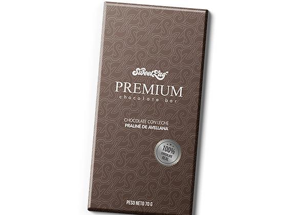 Premium Chocolate bar Praliné