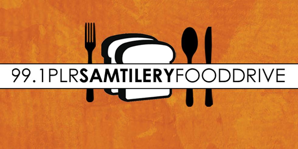 99.1 PLR Sam Tilery Food Drive