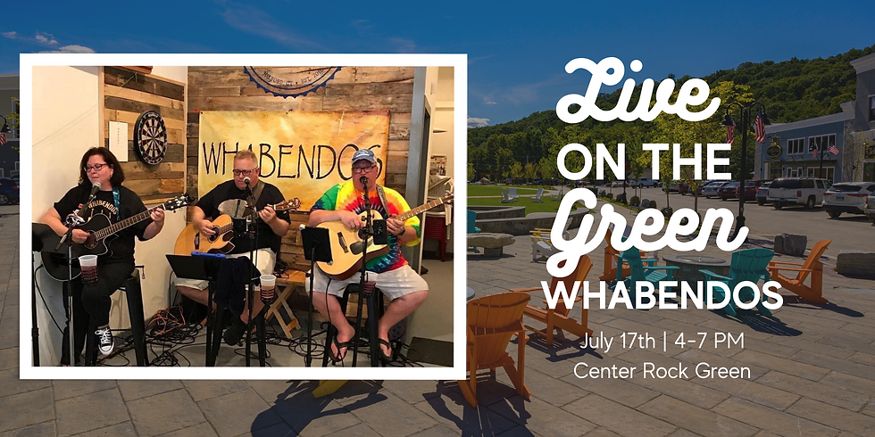 Concert on the Green: Whabendos