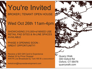 Broker / Tenant Event at Quarry Walk