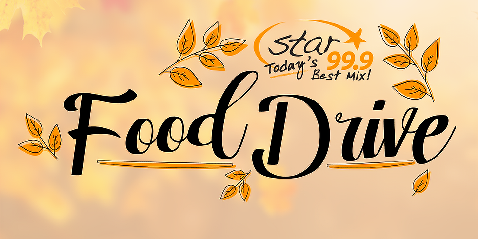 Star 99.9 Food Drive
