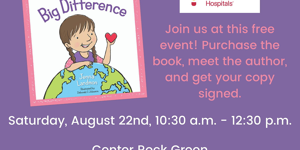 Jenna Landmon Book Signing Little Paisley makes a Big Difference