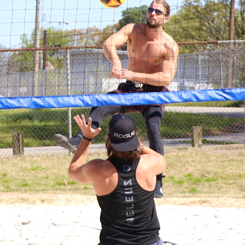 Coed Doubles Beach Volleyball Tournament