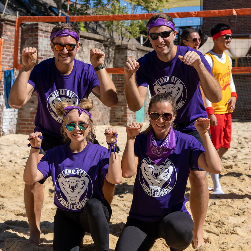 VolleyBOO! Coed 4v4 Sand Volleyball Tournament