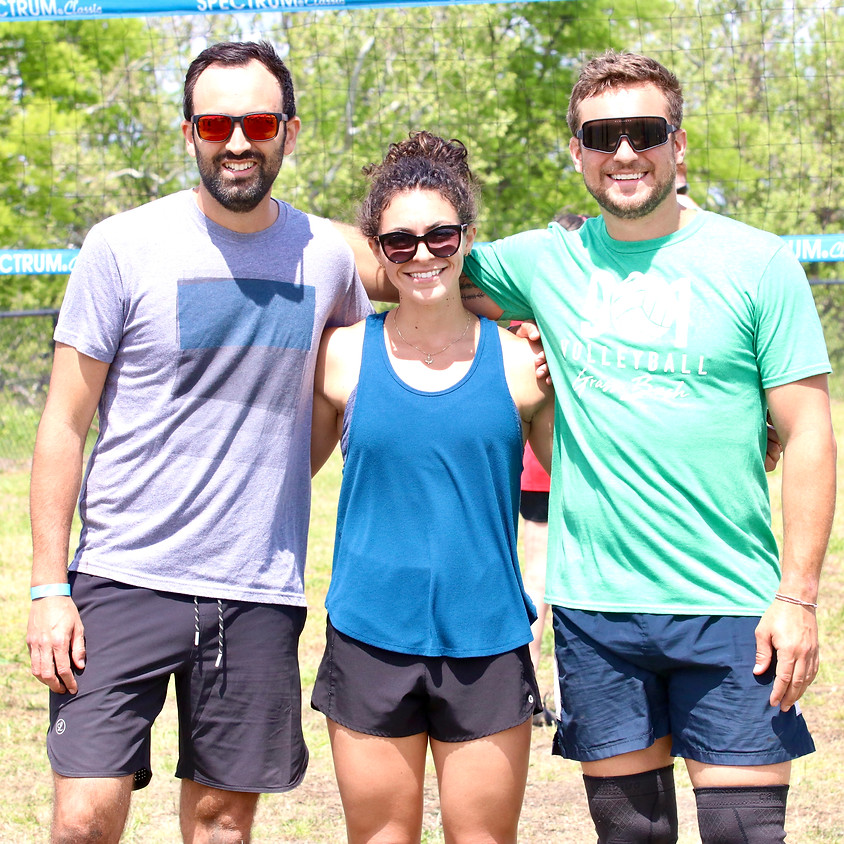 Coed 3v3 Grass Volleyball Tournament