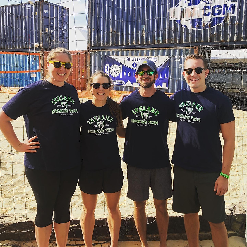 Coed 4v4 Sand Volleyball Tournament