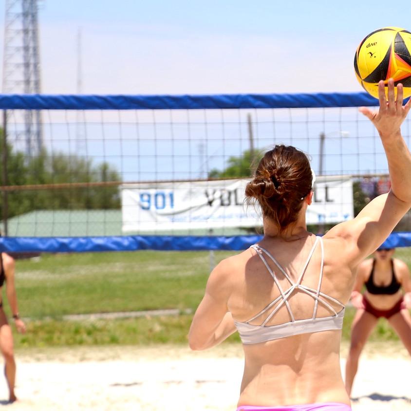 Coed 3v3 Beach Volleyball Tournament